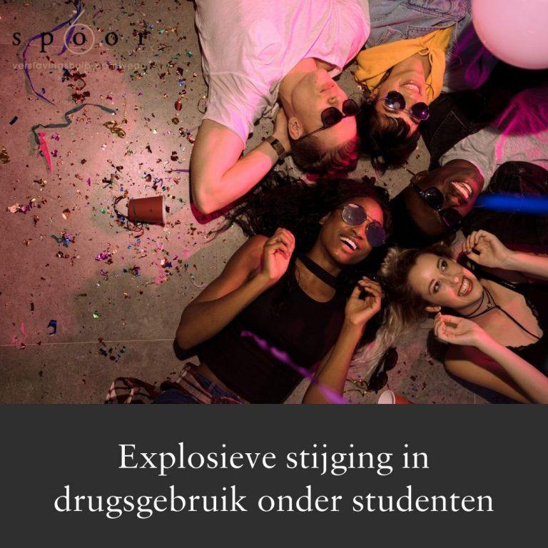Drugsgebruik onder studenten explosief gestegen tijdens coronacrisis